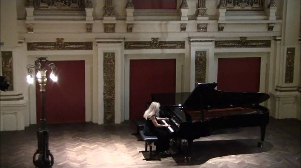 Solo recital at Ehrbarsaal, Vienna